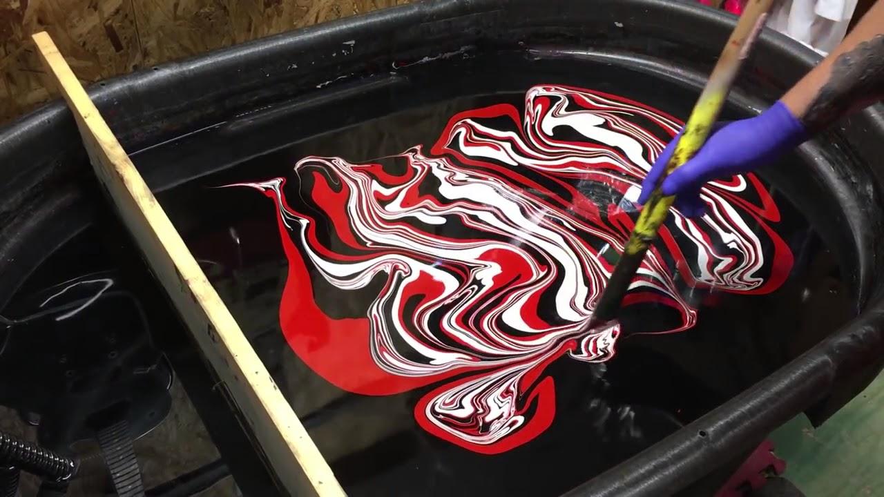 curso pintura hidrografica